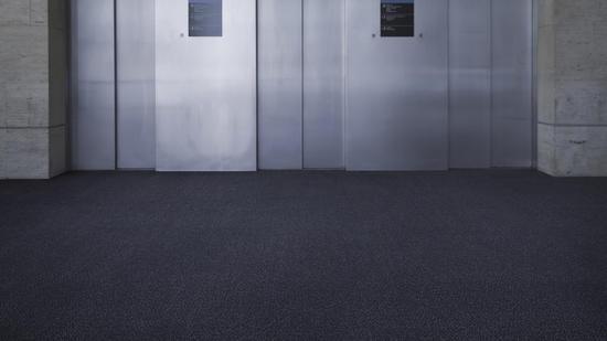 Carpet Tiles Capture Dirt And Moisture Desso Protect Tarkett